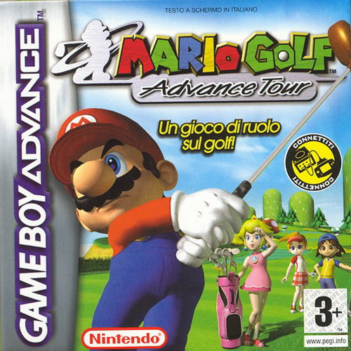Mario Golf - Advance Tour (I)(Independent) Box Art