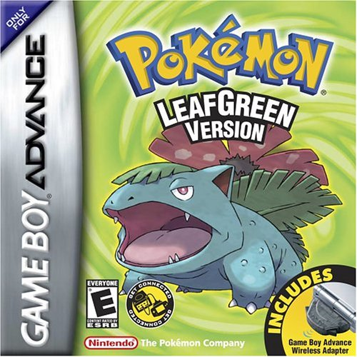 Pokemon Leaf Green (U)(Independent) Box Art