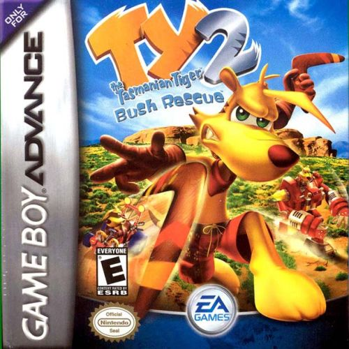 Ty the Tasmanian Tiger 2 - Bush Rescue (U)(Venom) Box Art