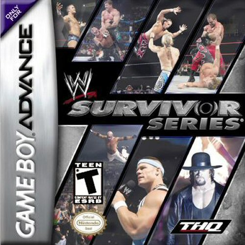 WWE Survivor Series (U)(Rising Sun) Box Art