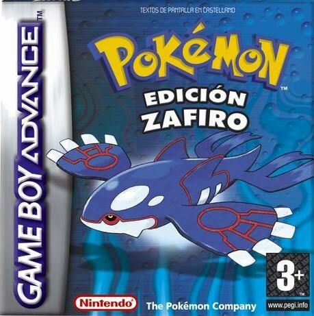 Pokemon Zafiro (S)(Independent) Box Art