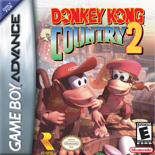 Donkey Kong Country 2 (U)(Independent) Box Art