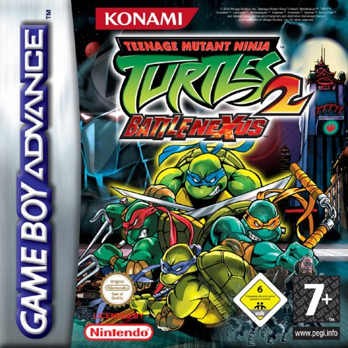 Teenage Mutant Ninja Turtles 2 - Battle Nexus (E)(Cezar) Box Art