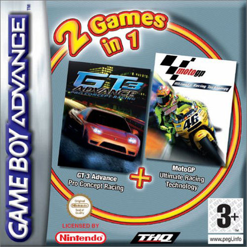 Moto GP & GT Advance 3 Double Pack (E)(Independent) Box Art