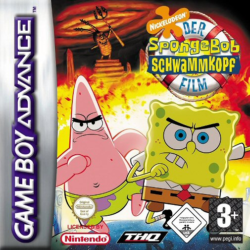 The SpongeBob SquarePants Movie (E)(Rising Sun) Box Art