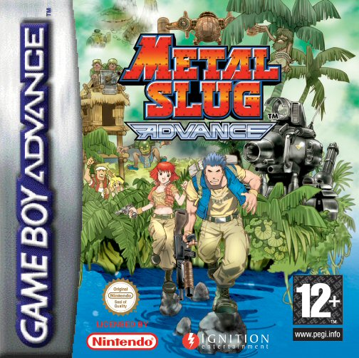 Metal Slug Advance (E)(TRSI) Box Art