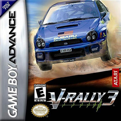 V-Rally 3 (U)(Rising Sun) Box Art