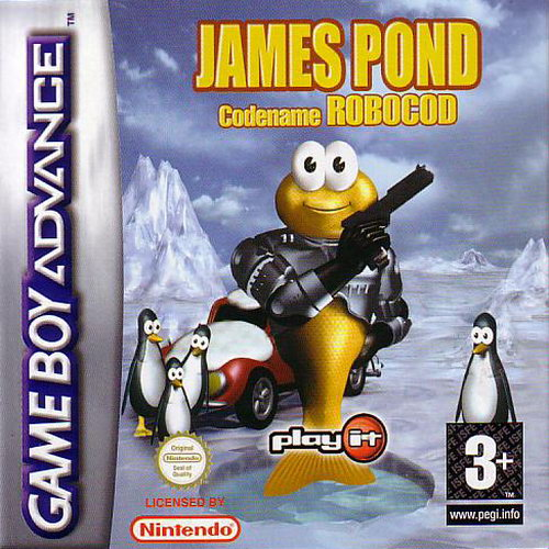 James Pond - Codename Robocod (E)(Rising Sun) Box Art