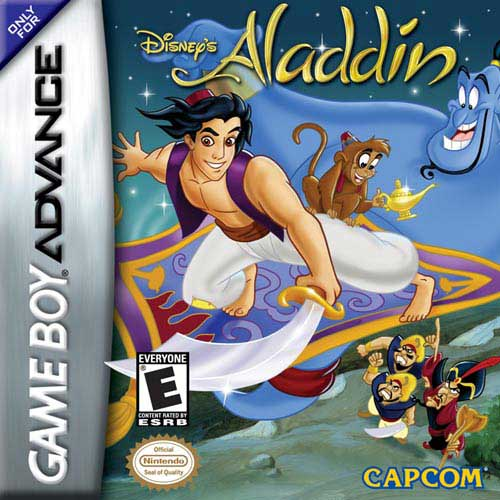 Disney's Aladdin (U)(Independent) Box Art