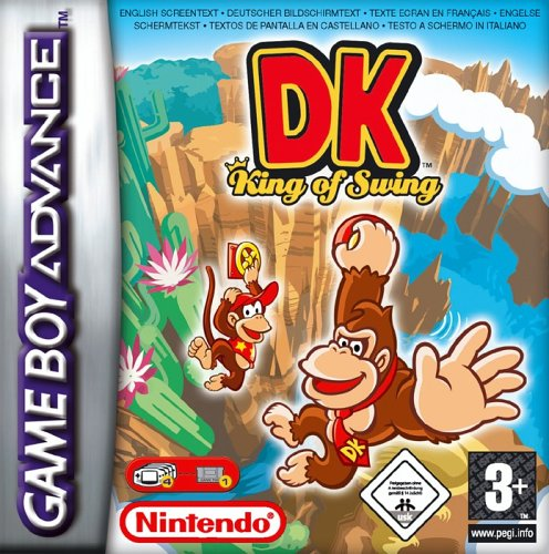 DK - King of Swing (E)(RisingCaravan) Box Art