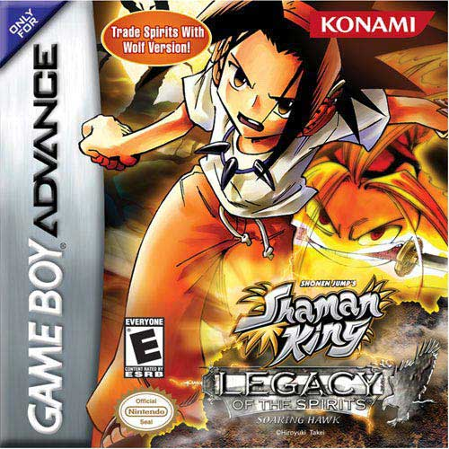 Shaman King - Legacy of the Spirits - Soaring Hawk (U)(Venom) Box Art