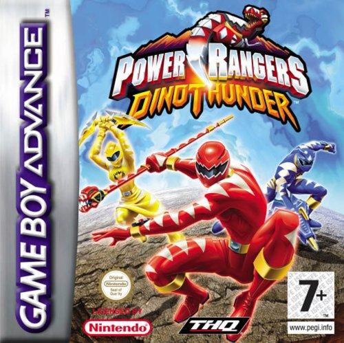 Power Rangers Dino Thunder (E)(RisingCaravan) Box Art