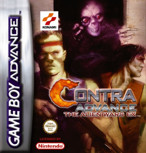 Contra Advance - The Alien Wars Ex (E)(Eternity) Box Art