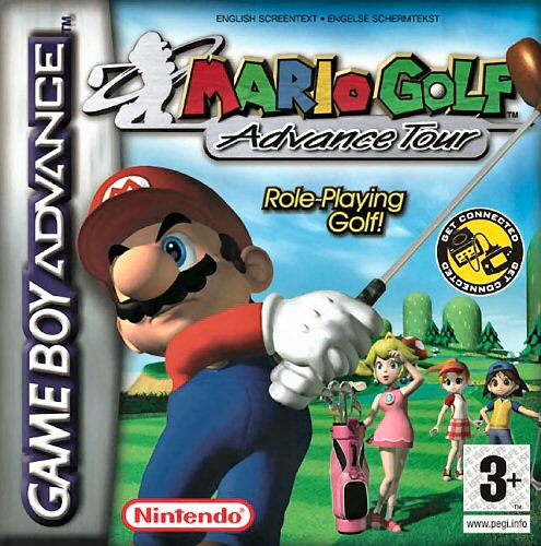 Mario Golf - Advance Tour (E)(Independent) Box Art