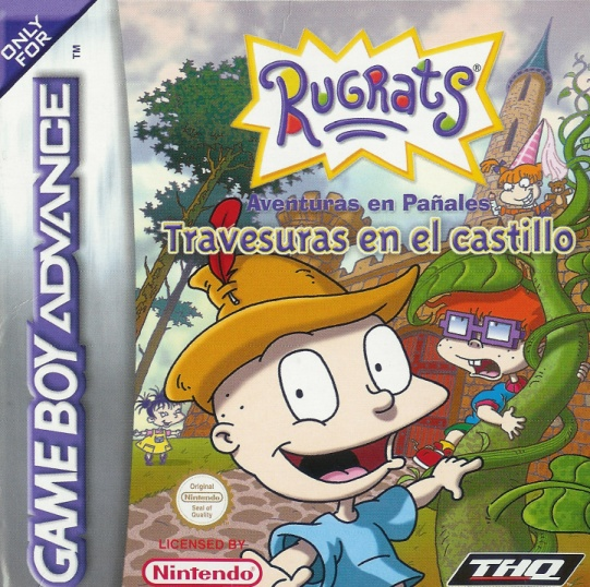 Rugrats - Castle Capers (S)(Independent) Box Art