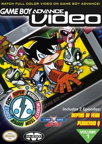 Super Robot Monkey Team Volume 1 - Gameboy Advance Video (U)(TrashMan) Box Art