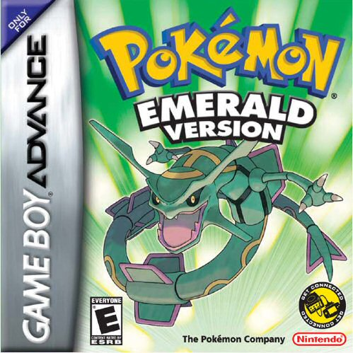 Pokemon Emerald (U)(TrashMan) Box Art