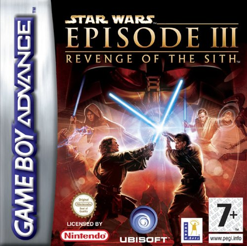 Star Wars Episode III - Revenge of the Sith (E)(RivalRoms) Box Art