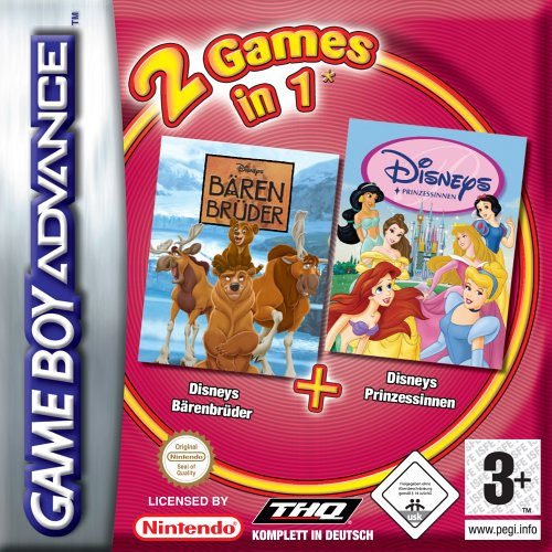 2 in 1 - Barenbruder & Disney Prinzessinen (G)(Independent) Box Art