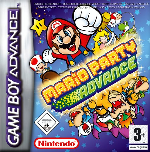 Mario Party Advance (E)(Rising Sun) Box Art