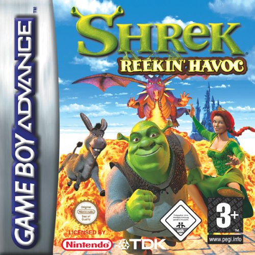 Shrek - Reekin' Havoc (E)(Independent) Box Art