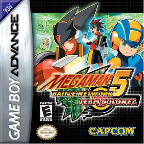 Megaman Battle Network 5 - Team Colonel (U)(Trashman) Box Art