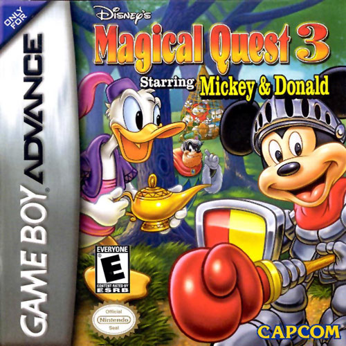 Disney's Magical Quest 3 Starring Mickey and Donald (U)(Trashman) Box Art