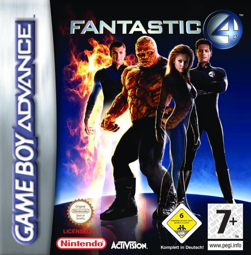 Fantastic 4 (E)(Rising Sun) Box Art