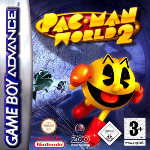 Pac-Man World 2 (E)(Trashman) Box Art