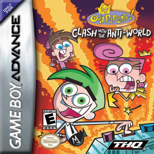 the fairly odd parents clash with the anti world u trashman rom