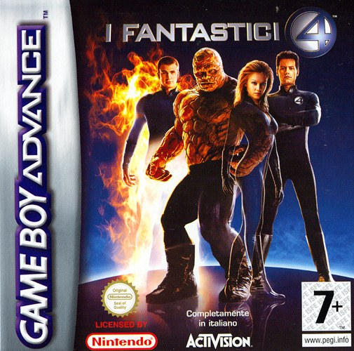 Fantastic 4 (I)(Independent) Box Art