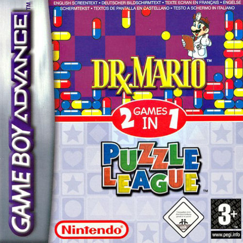 Dr. Mario & Puzzle League (E)(Rising Sun) Box Art