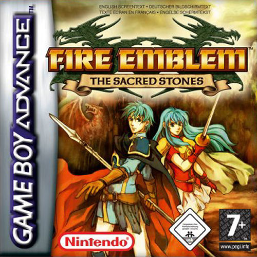 Fire Emblem - The Sacred Stones (E)(Rising Sun) Box Art