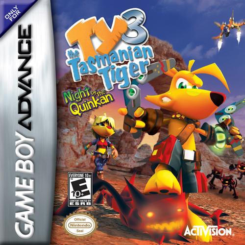 Ty the Tasmanian Tiger 3 - Night of the Quinkan (U)(Trashman) Box Art