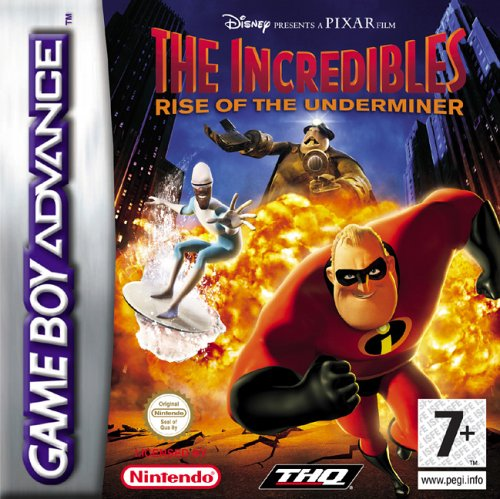 The Incredibles - Rise of the Underminer (E)(Rising Sun) Box Art