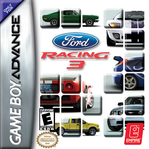 Ford Racing 3 (U)(Trashman) Box Art