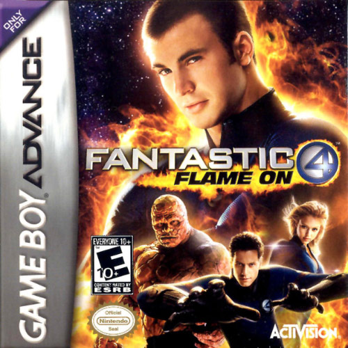 Fantastic 4 - Flame on (U)(Trashman) Box Art
