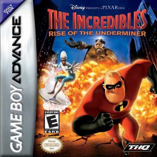 The Incredibles - Rise of the Underminer (U)(Trashman) Box Art