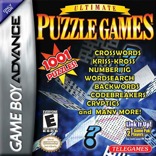 Ultimate Puzzle Games (U)(Trashman) Box Art