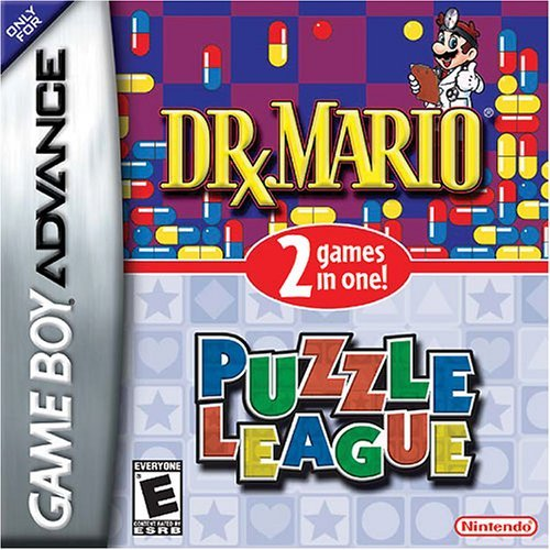 2 in 1 - Dr. Mario and Puzzle League (U)(Independent) Box Art