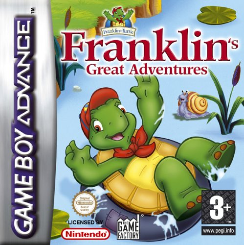 Franklin's Great Adventure (E)(Rising Sun) Box Art