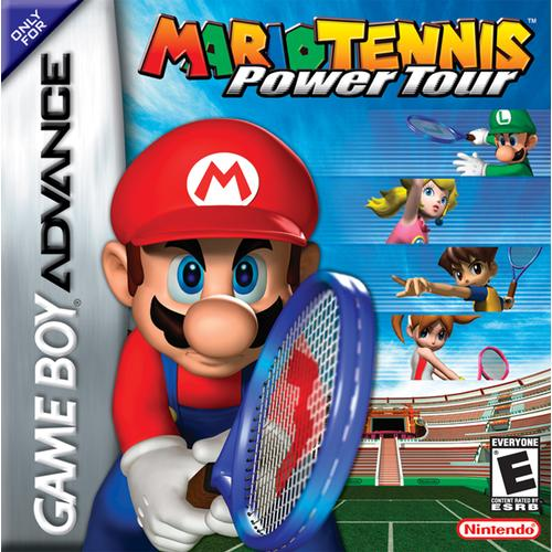 Mario Tennis - Power Tour (U)(Independent) Box Art