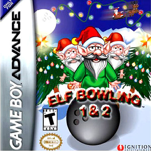 Elf Bowling 1 & 2 (U)(Trashman) Box Art