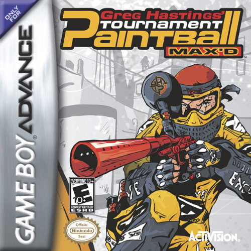 Greg Hastings' Tournament Paintball Max'd (U)(Trashman) Box Art