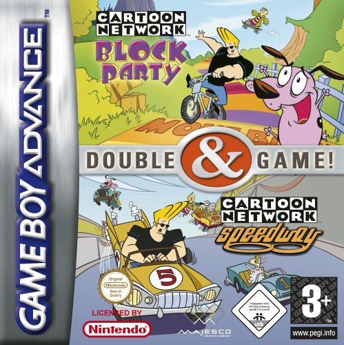 2 in 1 - Cartoon Network - Block Party & Speedway (E)(sUppLeX) Box Art