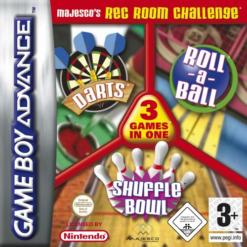 3 in 1 - Darts & Shuffle and Skiball (E)(Rising Sun) Box Art