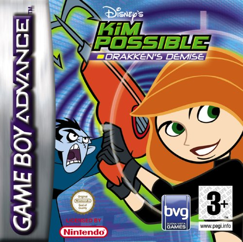 Kim Possible 2 - Drakken's Demise (E)(Rising Sun) Box Art