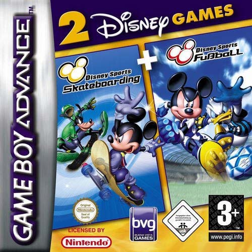 2 in 1 - Disney Sportpack (E)(Rising Sun) Box Art