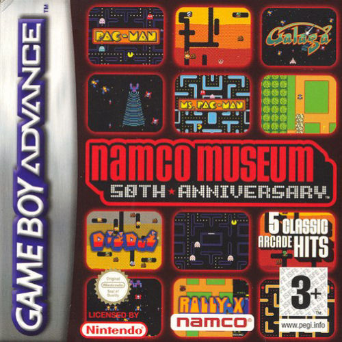 Namco Museum 50th Anniversary (E)(sUppLeX) Box Art