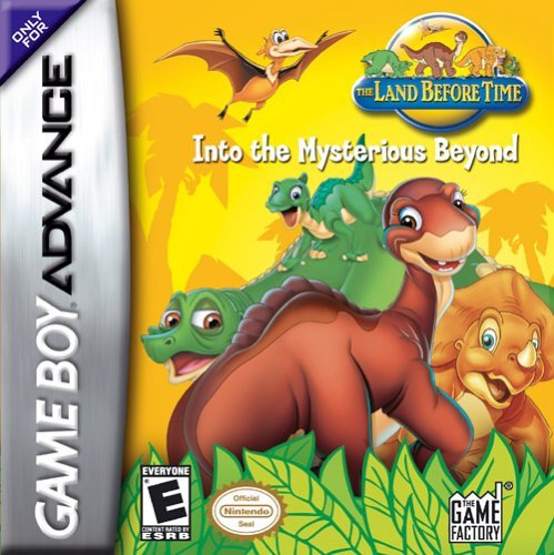 The Land Before Time - Into the Mysterious Beyond (U)(Trashman) Box Art
